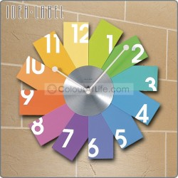 JAPAN COLOURFUL WALL CLOCK