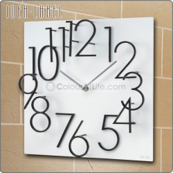 JAPAN 3D WALL CLOCK (WHITE/MADE IN TAIWAN)