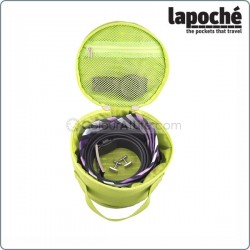 LAPOCHE BELT UP TIE DOWN ROLL - GREEN
