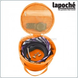 LAPOCHE BELT UP TIE DOWN ROLL - ORANGE