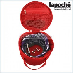 LAPOCHE BELT UP TIE DOWN ROLL - RED