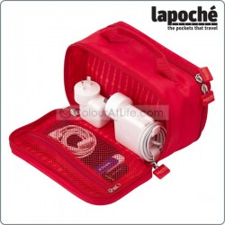 LAPOCHE CHARGE ME UP BAG - RED