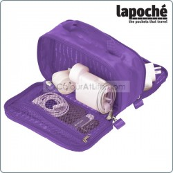 LAPOCHE CHARGE ME UP BAG - PURPLE