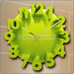 JAPAN WALL CLOCK (GREEN)