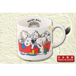 "Snoopy ""Daisy Hill Puppies"" Mug (Red