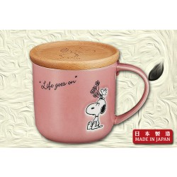 "Snoopy ""Life Goes On"" Mug (Red