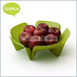 Flower Fruit Tray (Small / Green)