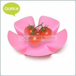 Flower Fruit Tray (Small / Pink)