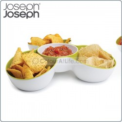 Triple Dish (Multi-bowl serving dish)