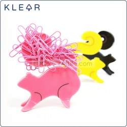 Squirrel Clip Holder (Pink)