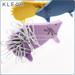 Hedgehog Clip Holder (Purple)