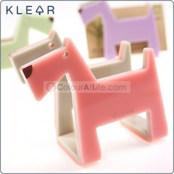Dog-gami Name Card Holder (Pink)