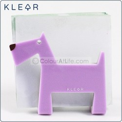 Dog-gami Name Card Holder (Purple)