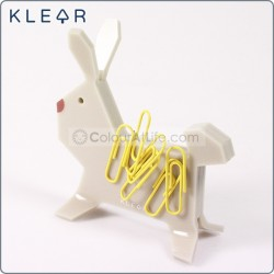 Bunny-gami Clip Holder (Cream)