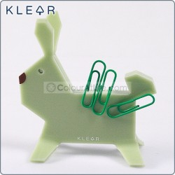 Bunny-gami Clip Holder (Green)