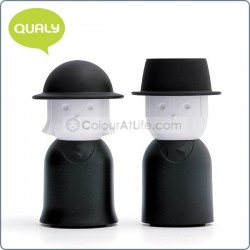 Mr. Pepper & Mrs Salt (Black)