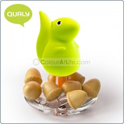 Squirrel & Acorn - Pin Holder (GREEN)