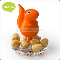 Squirrel & Acorn - Pin Holder (ORANGE)