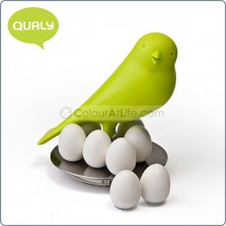 Magnetic Egg Sparrow (Green)