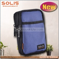 SOLIS Utility Hang Bag (橫條藍)