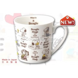 Snoopy Nostalgic Mug (Beagle Hugs)|Made in Japan